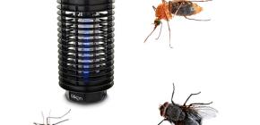 Lampen für die Zerstörung von fliegenden Insekten