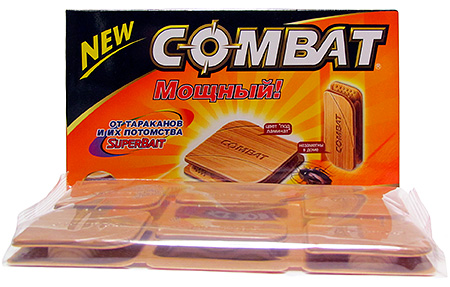 Beispiel: Kombat Cockroach Traps