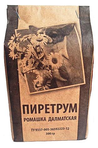 Pulver Pyrethrum aus Kamillenblüten Dalmatiner.