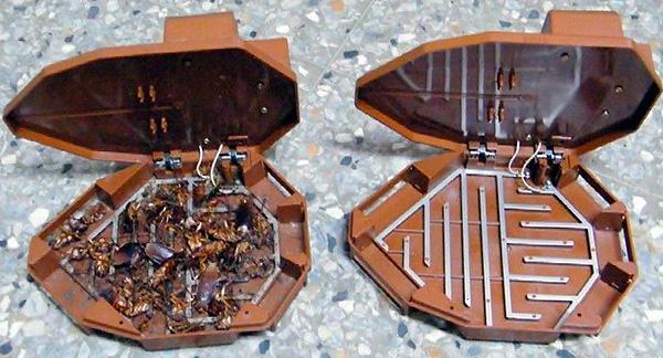 Elektrische Kakerlakenfalle