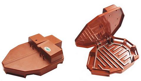 Ein Beispiel für eine elektrische Kakerlakenfalle