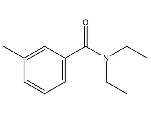 Insektenschutzmittel DETA: chemische Struktur