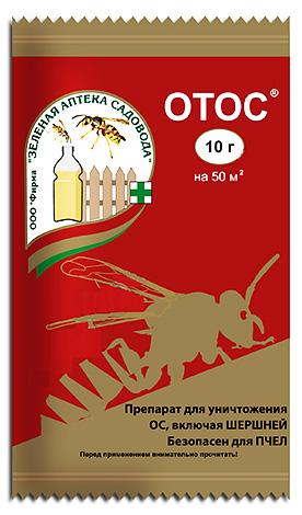 Vorbereitung auf die Vernichtung von Wespen und Hornissen Otos