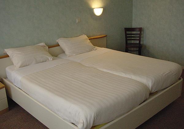 Parasiten können in billigen Hotels abgeholt werden.