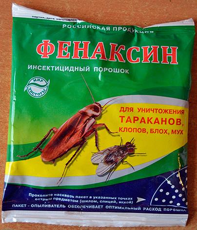 Insektizid Pulver Fenaxin