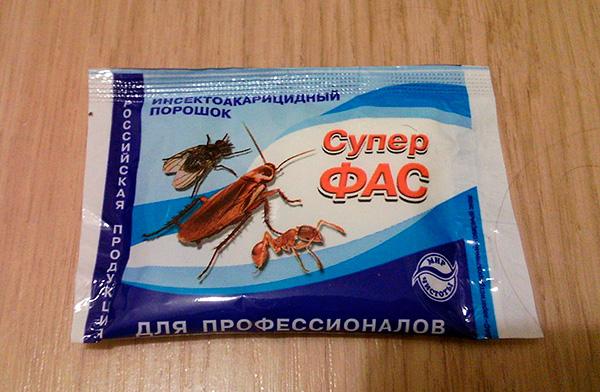 Insektoakaritsidny das Pulver Super Fas