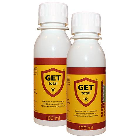 Get Total Insektizid Droge Get Total effektiv beseitigt auch Hausstaubmilben.