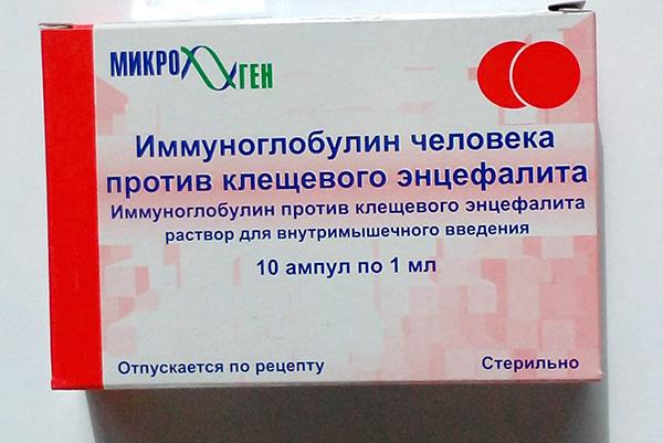 Menschliches Immunglobulin gegen Frühsommer-Meningoenzephalitis
